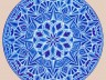 author drawing - mandala 1 - crystal blue - copy