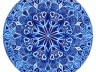 author drawing - mandala 2 - star blue - copy