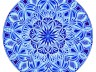 author drawing - mandala 3 - bloom blue - copy