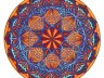 author drawing - mandala 6 - spider orange - copy