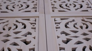 Ażurowe fronty do zabudowy - detal