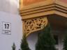 ażurowe ozdoby budynku w Sopocie