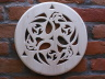 Dysk ażurowy lipowy - znak celtycki Triskel