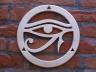 Dysk ażurowy lipowy - znak OKO Horusa