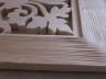 Obraz lipowy ażurowy wzór Liść - detal