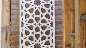 Panel dekoracyjny z ażurowym wzorem orientalnym marocco