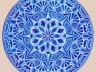 rysunek autorski - mandala 1 krysztal niebieska - kopia