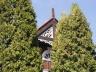 Sztutowo - dom z ozdobą drewnianą