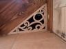Zabudowa - ażurowa myszka pod schodami